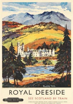 Balmoral Castle Deeside Scotland - Royal Family